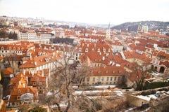 Widok Praga republika czech, Obrazy Royalty Free