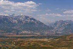 Widok Prokletije góry, Albania obraz royalty free
