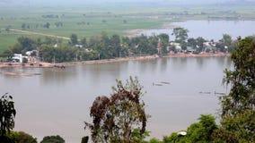 Widok prowincja Dak lak prowincja zbiory