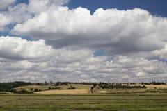 Widok przez Haleigh Ray, canvey island, Essex, Anglia zdjęcia royalty free