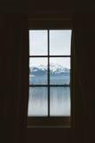 Widok Przez okno Obrazy Stock