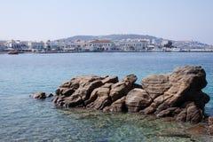 Mykonos miasteczko Zdjęcia Royalty Free