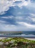 Widok przy atlantyckim oceanem Zdjęcia Royalty Free