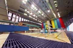 Widok przy basenem dla pływać Zdjęcia Stock