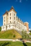 Widok przy górską chatą Pau, Francja - zdjęcie royalty free