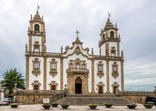 Widok przy kościół Misericordia w Viseu, Portugalia - Obrazy Royalty Free
