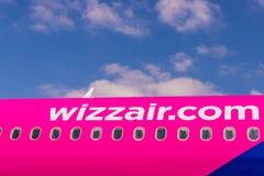 Widok przy Luto lotniskiem w UK zdjęcie royalty free