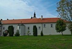 Widok przy monasterem powikłany Krusedold, Serbia Zdjęcia Stock