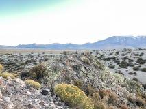 Widok przy Panum kraterem Z Góry obraz stock