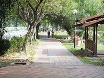 Widok przy rekreacyjnym parkiem obraz royalty free