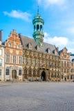 Widok przy urzędem miasta Mons w Belgia obrazy stock