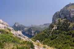 Widok przylądek Formentor obrazy stock