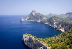 Widok przylądek Formentor fotografia royalty free