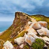 Widok przylądek Roca, Sintra, Portugalia Obrazy Royalty Free