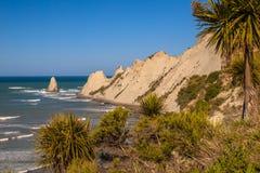 Widok przylądków porywacze Nowa Zelandia Zdjęcia Stock