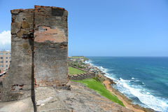 Widok Puerto Rico plaża Obrazy Royalty Free