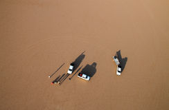 widok pustynny rumowy wadi Zdjęcie Royalty Free