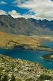 widok queenstown Obrazy Royalty Free