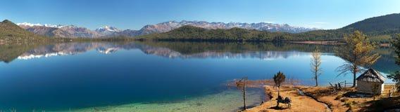 Widok Rara Daha lub Tal Mahendra jezioro Obraz Stock