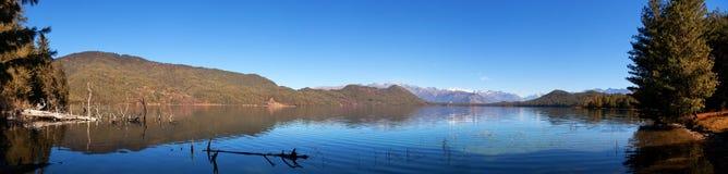 Widok Rara Daha lub Tal Mahendra jezioro Fotografia Stock