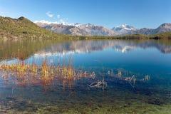 Widok Rara Daha lub Tal Mahendra jezioro - Rara wędrówka Fotografia Stock