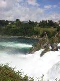 Widok Rhine spadki, Szwajcaria Obraz Stock