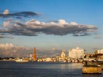 Widok rio grande ` s schronienie - stary miasto rio grande robi Sul stanowi Obrazy Stock