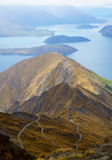 Widok Roys szczyt w Wanaka Obraz Stock