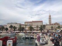 Widok rozłam, Chorwacja Obraz Stock