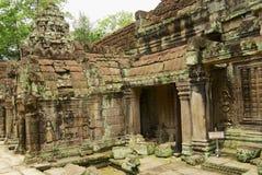 Widok ruiny Preah Khan świątynia w Siem Przeprowadza żniwa, Kambodża Obrazy Stock