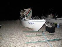 Widok rybak łodzie Obrazy Royalty Free