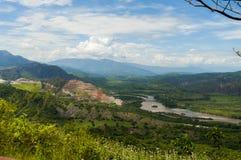 Widok rzeka Obraz Stock