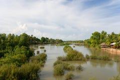 widok rzeki mekong Zdjęcie Stock
