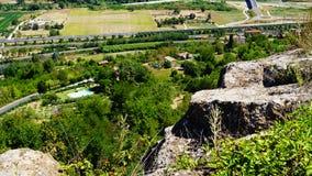 Widok rzymski wzgórze fotografia stock