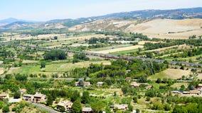 Widok rzymski wzgórze zdjęcie royalty free