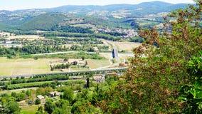 Widok rzymski wzgórze obraz royalty free