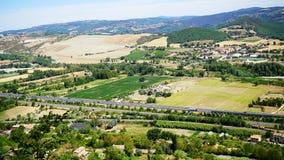 Widok rzymski wzgórze zdjęcia royalty free