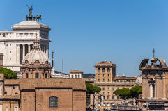widok rzymu Fotografia Stock