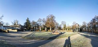 Widok sławny Zachodni cmentarz Monachium Fotografia Stock