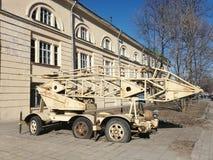 Widok samochód i budynek zdjęcia royalty free