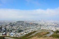 Widok San Fransisco, Kalifornia, Stany Zjednoczone Obrazy Stock