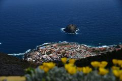 Roque de Garachico - Tenerife royalty free stock images