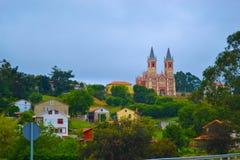 Widok San Pedro reklamy Vincula Iglesia De San Pedro kościelna reklama Vin obraz stock