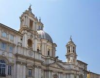 Widok Sant Agnese w Agone Zdjęcia Royalty Free