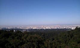 Widok Sao Paulo miasto, Brazylia Obraz Royalty Free