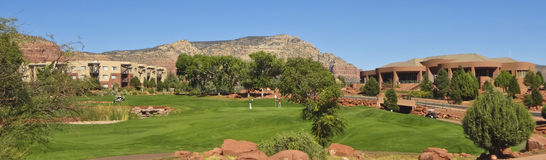 Widok Sedona golfa kurort Fotografia Stock