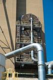 Widok sekcja zbożowa winda, agrarny łatwości comple obraz royalty free