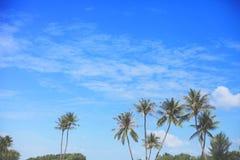 Widok Sentosa wyspa Singapur zdjęcia royalty free