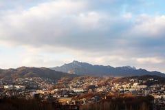 Widok Seul zdjęcie stock