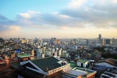 Widok Seul zdjęcia royalty free